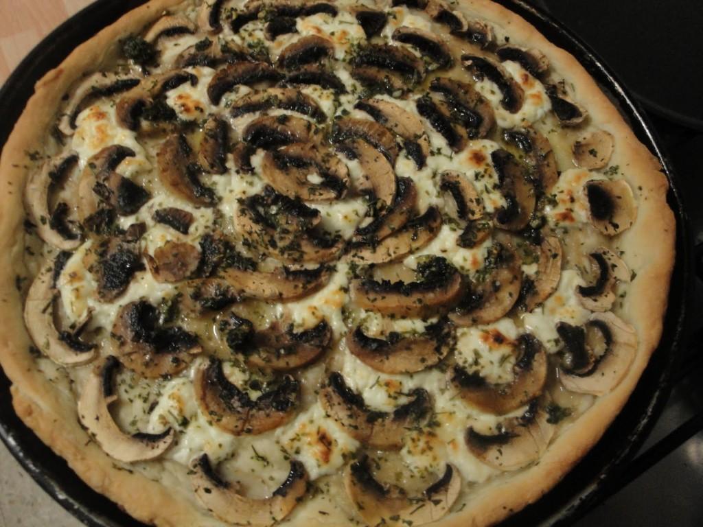 Duchessa, Asti - pizza ai funghi