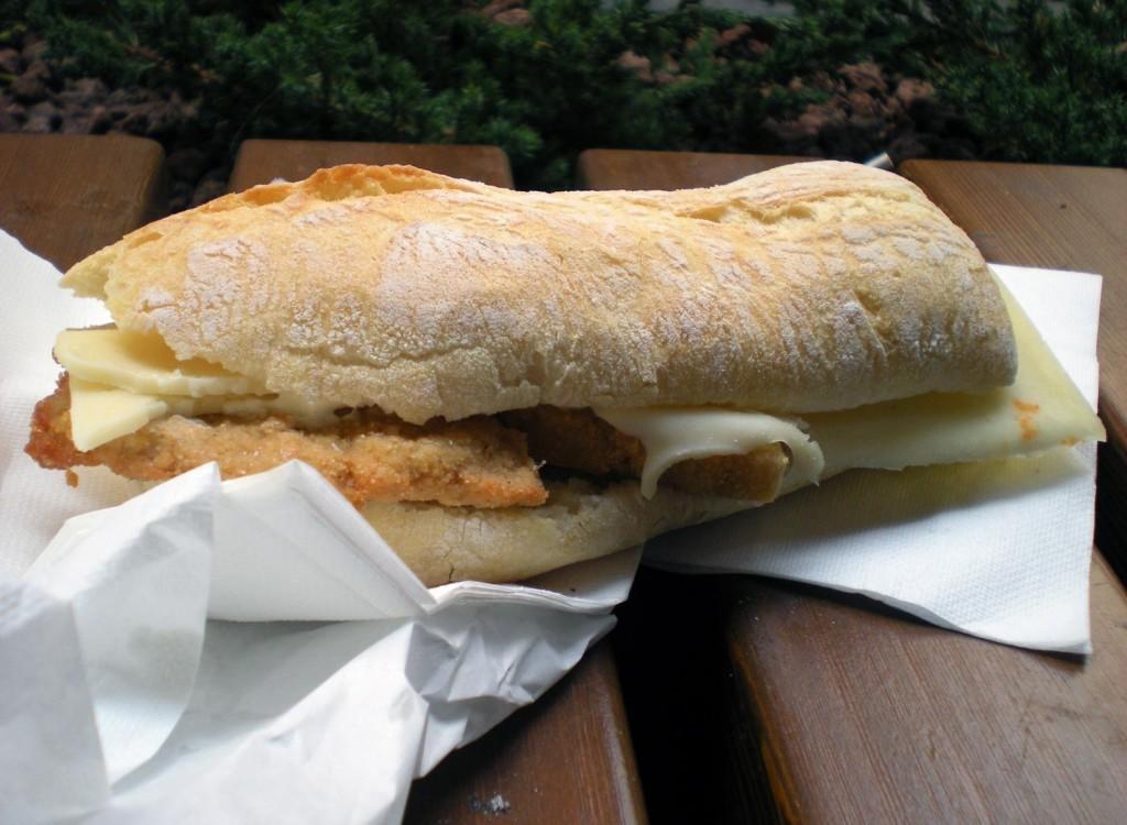 De Santis, Milano - Panino cotoletta fettina panata