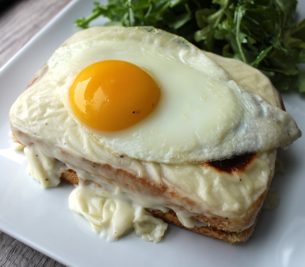 Visconti Street Food, Milano - croque madame