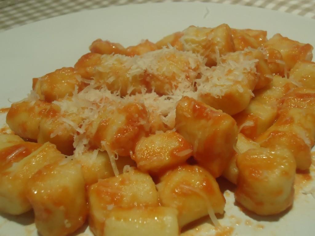 Taverna Stella, Verona - Gnocchi pomodoro