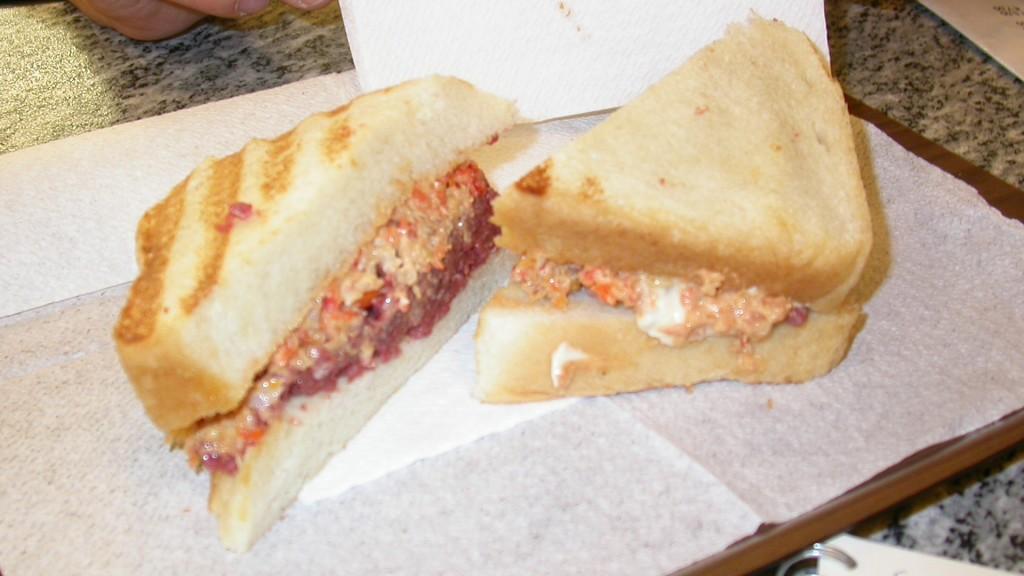Clinica del panino, Parma - panino pesto di cavallo