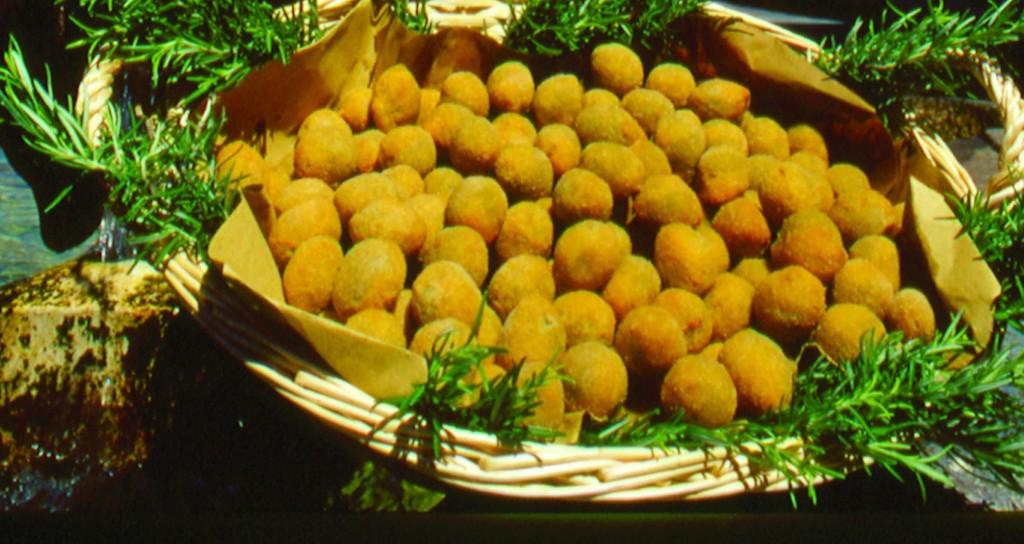 Attù, Ascoli Piceno - olive ascolane