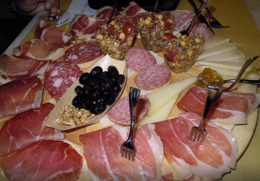 Tavernetta del Corso, Osimo Ancona - Tagliere salumi