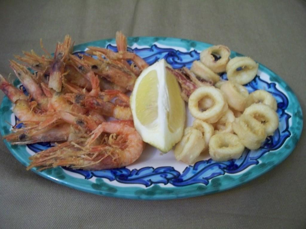 Il Pesce Strada, Magione , Perugia - Fritto di pesce