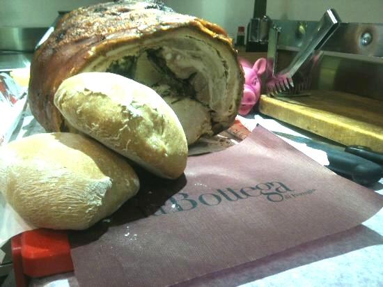 La Bottega di Perugia , Perugia - panino porchetta