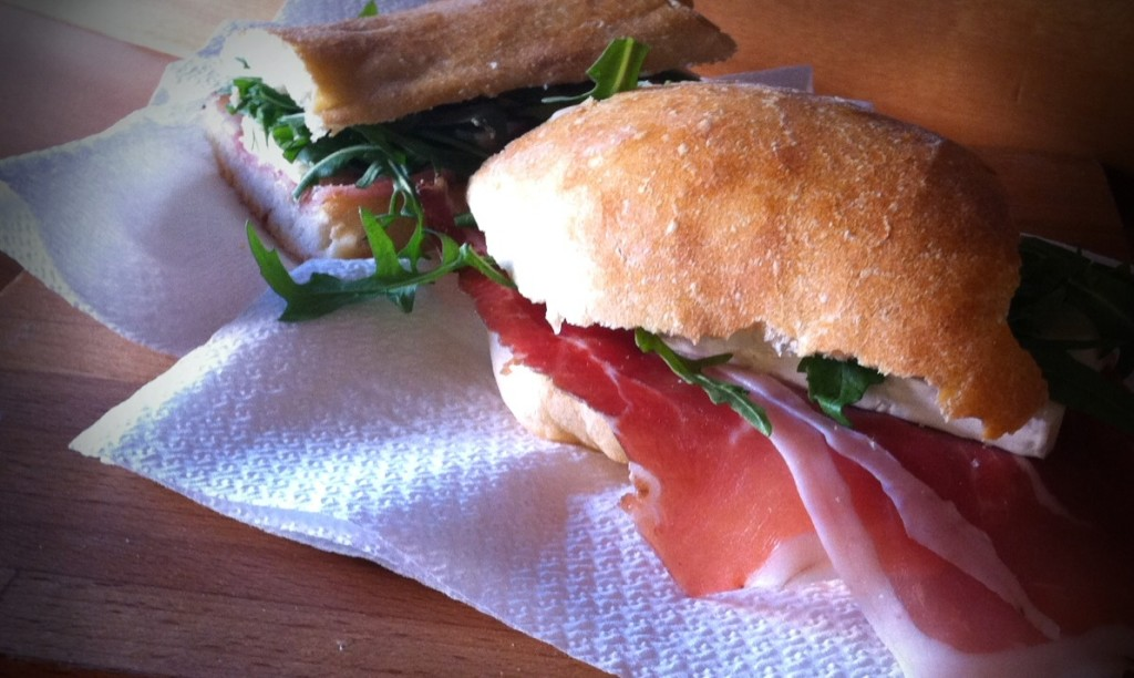 Duecentogradi, Roma - panino