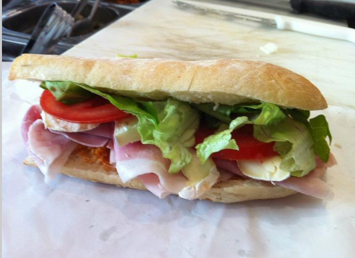 La Sandwicheria, Roma - panino
