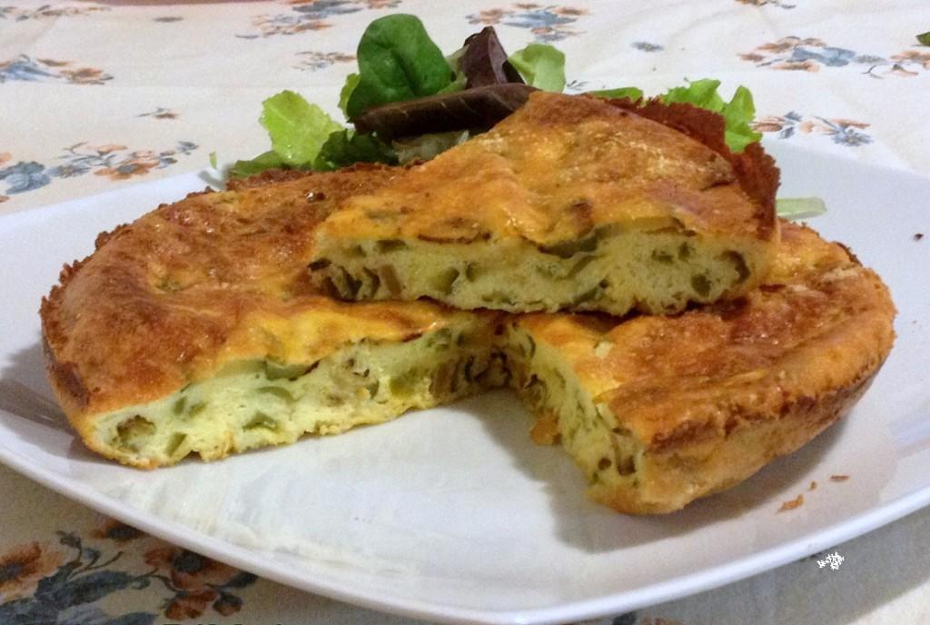 Acqua Zolfa, Campobasso - Frittata al forno con zucchine e friggitelli
