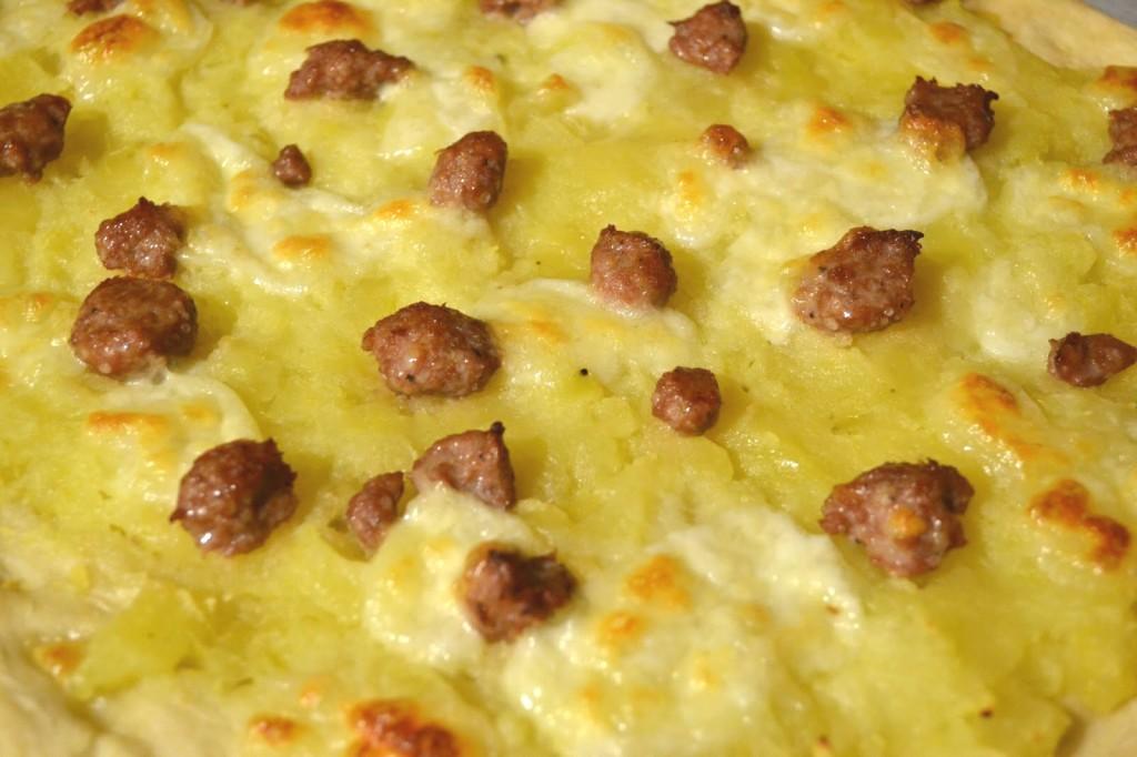 Antonio Palazzo, Campobasso - pizza con patate e salsiccia
