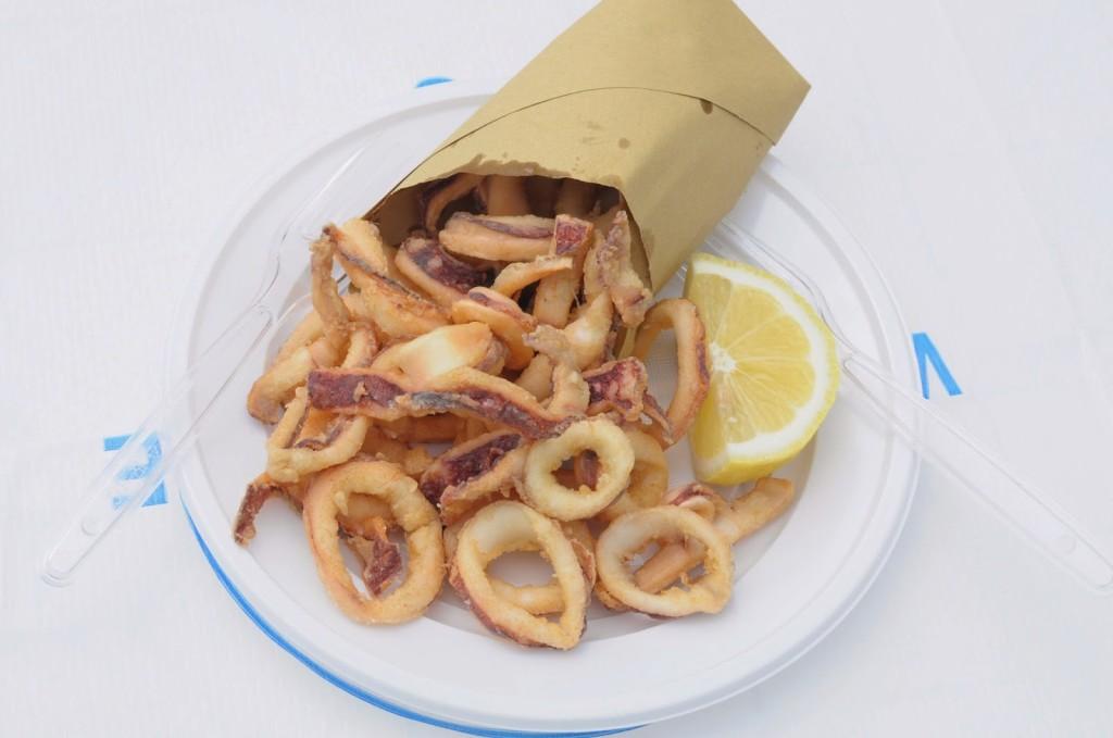 Cuopperia del Convento, Cetara, Salerno - cuoppo fritto pesce