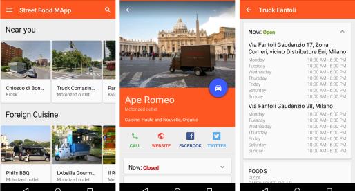 Street food MApp, l'app Android per il cibo di strada a Milano