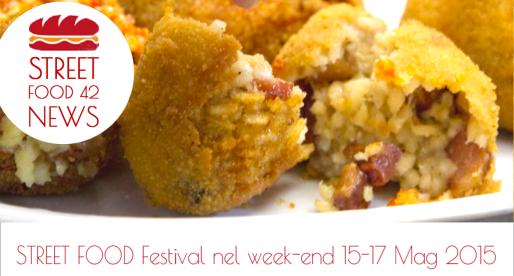 Street Food festival in Italia 15 – 17 Maggio 2015