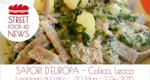 "Street food festival ""Sapori d'Europa"" a Colico, Lecco, 30 Mag – 2 Giu 2015"