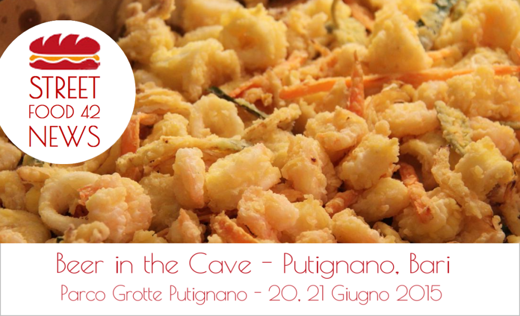 Street Food Putignano, Bari - Beer in the cave - 20-21 Giugno 2015 - fritto pesce
