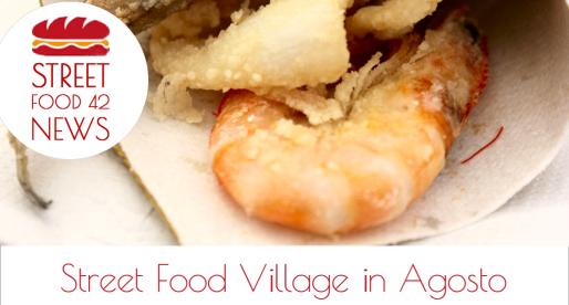 Street Food Village e Festival di Cibo di Strada in Agosto in Italia