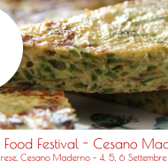 Street Food Festival Cesano Maderno, Milano – 4, 5, 6 Settembre 2015