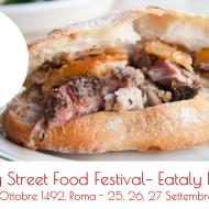 Eataly Street Food festival: da Eataly a Roma, 25, 26, 27 Set 2015