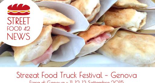 StreEat Food Truck Festival Genova – 11, 12, 13 Settembre 2015