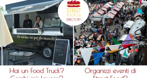 Streetfood42 Directory – Se hai un food truck, fatti trovare. Se cerchi food truck, qui li trovi
