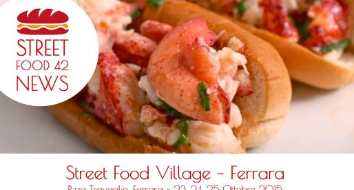 Street food a Ferrara: Street food Village 23, 24, 25 Ottobre 2015