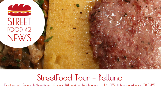 Street food a Belluno: Streetfood village – 14-15 Nov 2015