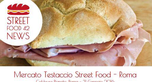 Mercato Testaccio Street Food –  Pigneto, Roma 31 Gen 2016