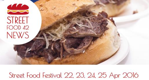 I Festival Street Food del 22, 23, 24, 25 Aprile 2016
