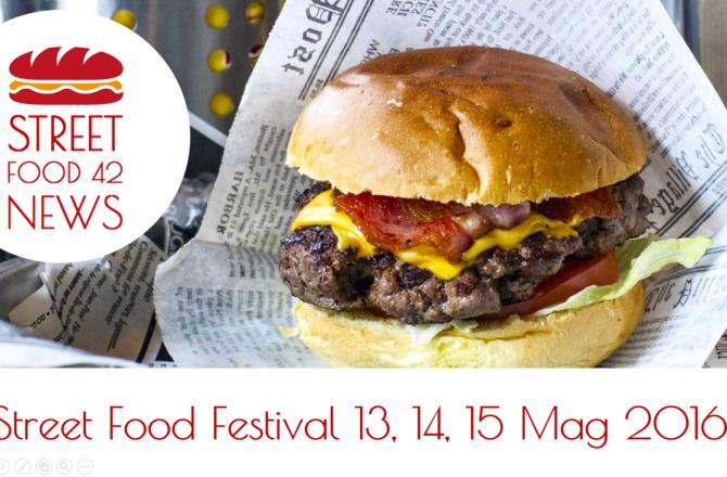 I festival Street Food del 13, 14, 15 Mag 2016